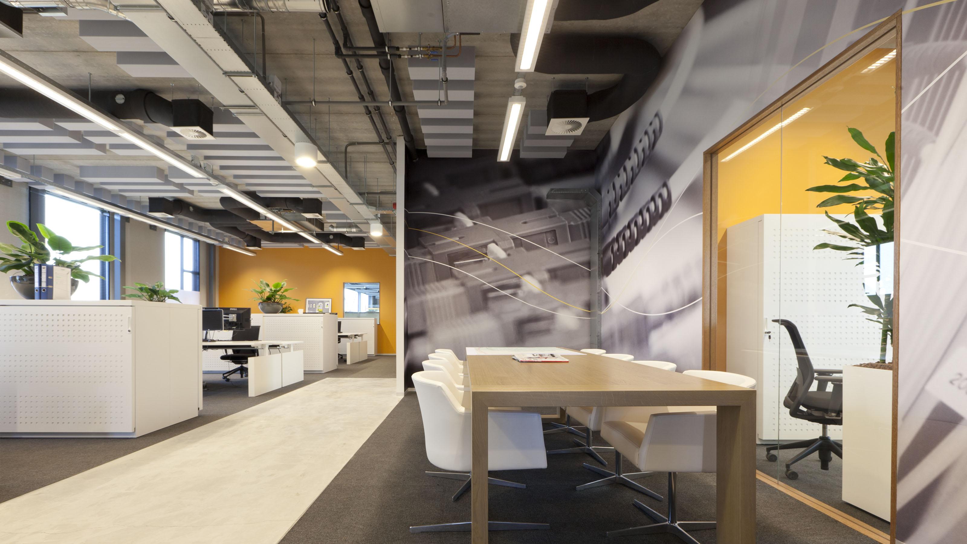 Kantoor en bedrijfshal gebr van der donk egm architects for Kantoor architect