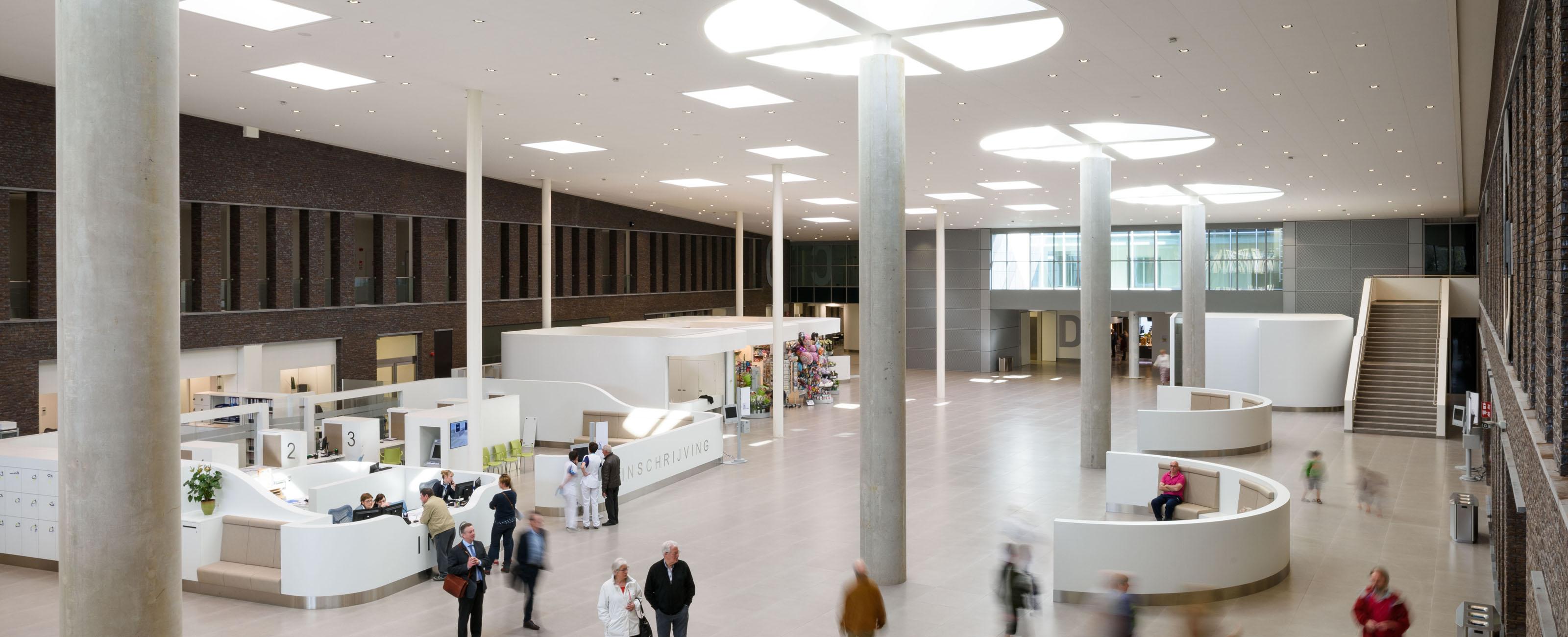 Maria Middelares Gh Ghent Belgium Egm Architects