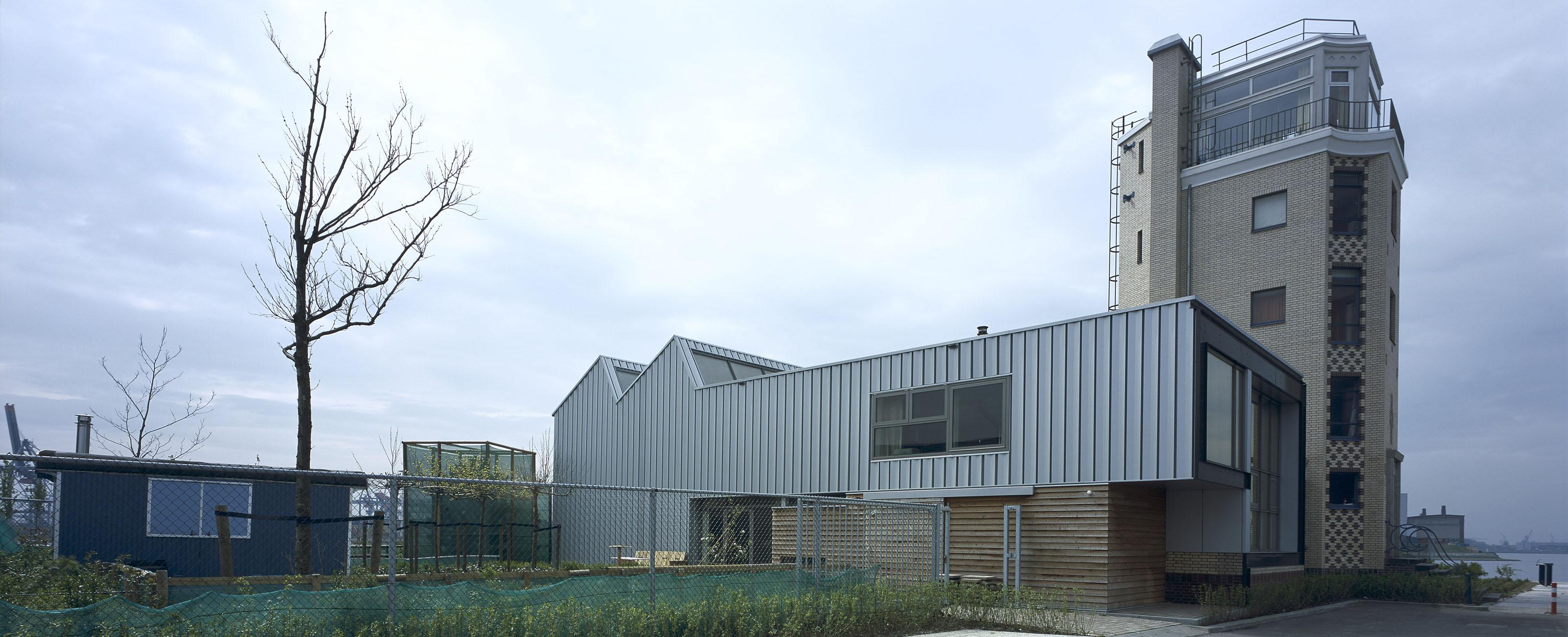 Woonhuis en atelier egm architecten for Woonhuis rotterdam